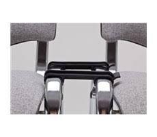 Reihenverbinder für Stühle Ovalrohr Modell ISO zum Nachrüst
